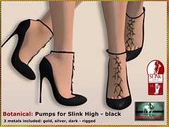 Bliensen - Botanical - Pumps - black