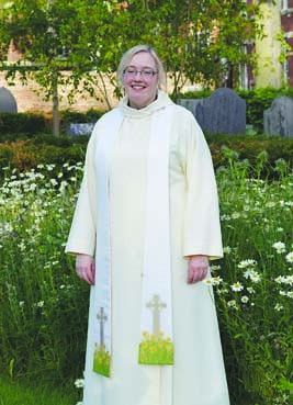 Liz at Ordination