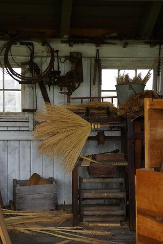 broom making at slate run farm