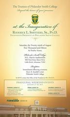 PSC President's Inaugural Gala Invitation 2015