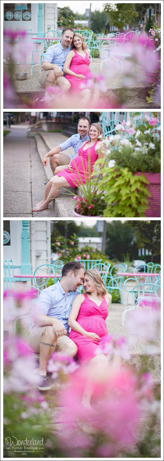 Bucks County PA Urban Maternity Pictures | WonderlandPortrait.com