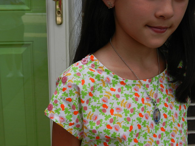 Mini Sutton blouse shoulder detail