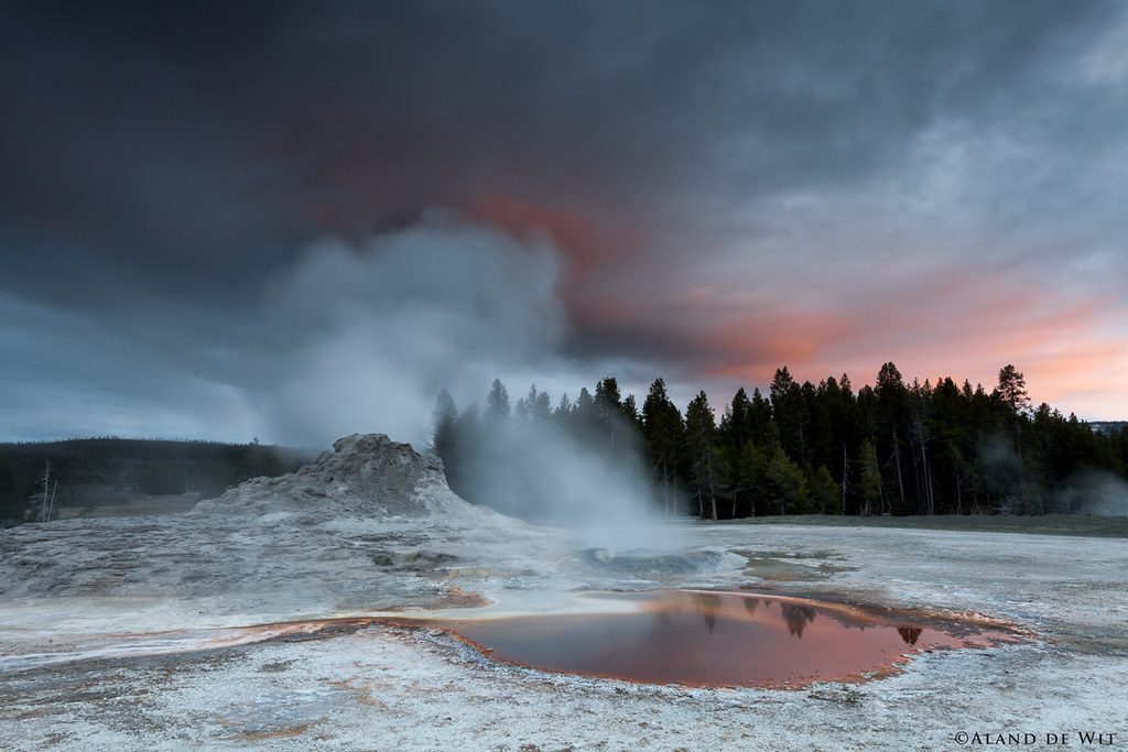 Castle Geyser Yellowstone