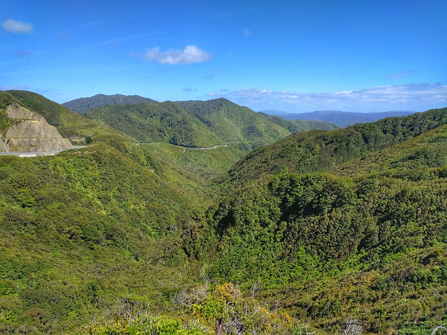 view from Rimutaka Hill