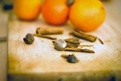 Noce moscata cannella e arance, ingredienti per il…