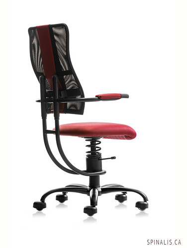 Mechanical Low Back Pain Treatment & Management with SpinaliS Hacker Series Chairs for Active Sitting in Canada