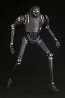 ARTFX+ 《星際大戰外傳: 俠盜一號》K-2SO 1/10 比例上色完成品