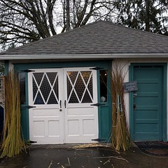 #heidibohan #gatherertogardener #traditionalskills #studio #shed #garage #carnation #cattail #willow