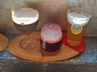 My Sampler of Beer from Duvelorium