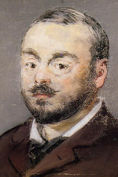 Portrait of Emmanuel Chabrier by Edouard Manet, 1880