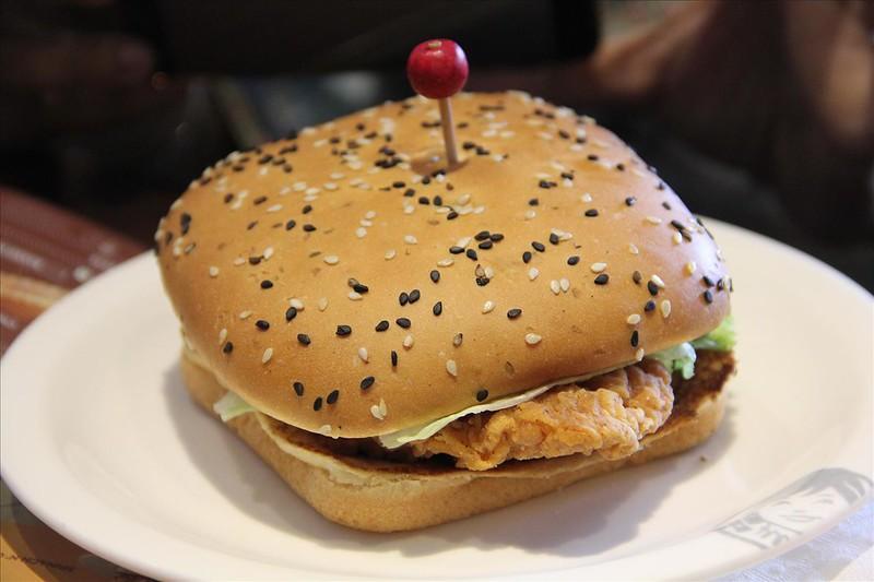 Smoky Chipotle Chicken Burger