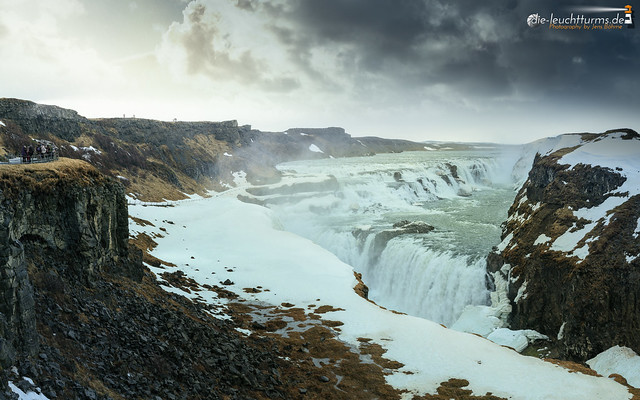 Gullfoss at a crappy morning