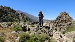 Dans la montée vers la bergerie des Strette