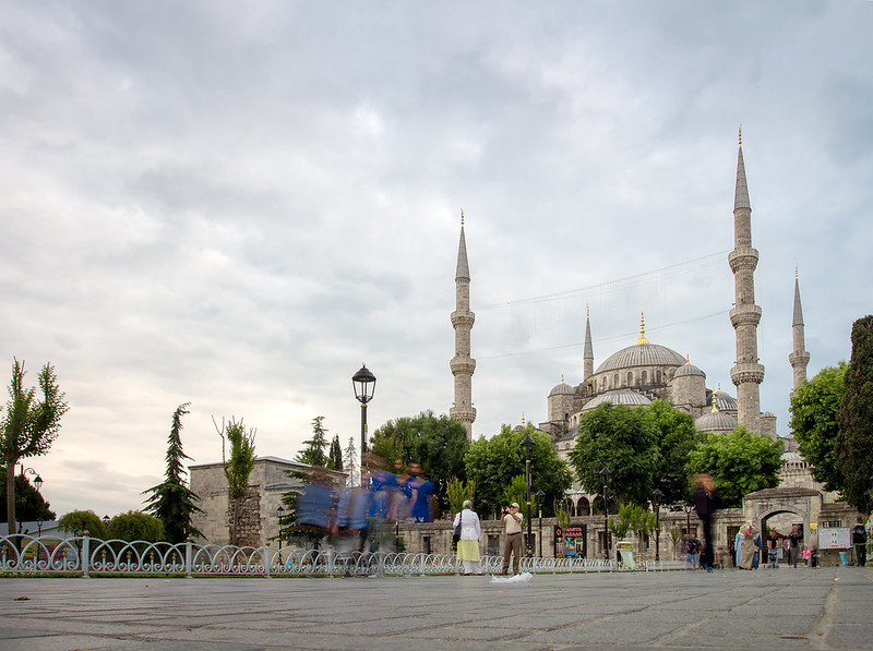 Blue Mosque HDR - Istanbul, Turkey