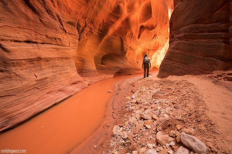A River Runs Through it..., Buckskin Gulch image