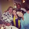 Double photo bomb! Uncle Chris on purpose, auntie shelly by accident! #bainbridgewellswedding