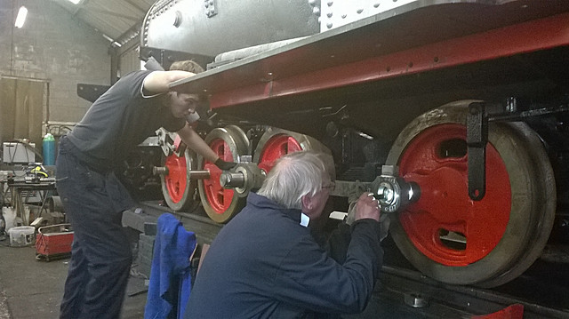 Fitting The First Coupling Rod