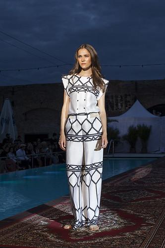 Marokko mit Holy Ghost auf der Fashion Week Berlin im Haubentaucher