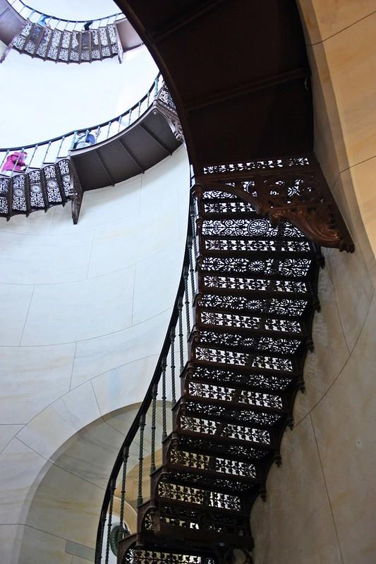 Jagdschloss Granitz Rügen Treppe01