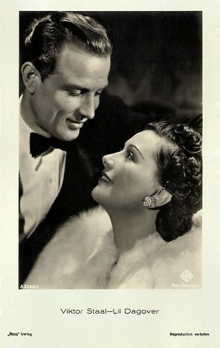 Viktor Staal and Lil Dagover in Umwege zum Glück (1939)