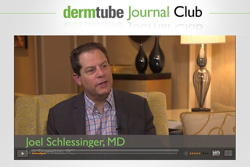 Joel Schlessinger MD discusses navigating the cosmeceutical market on DermTube Journal Club