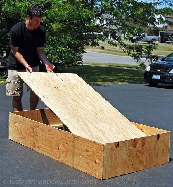 Assembling a DIY Bed Frame