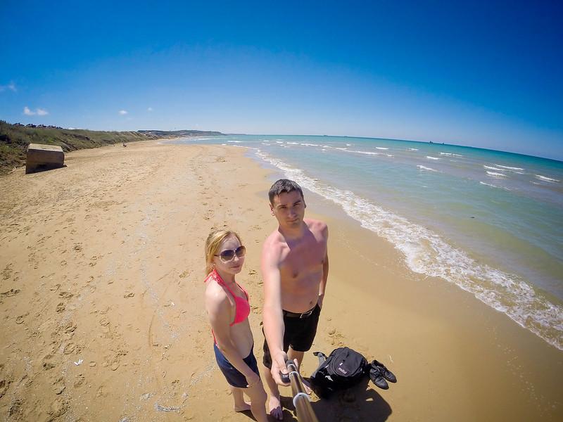 Kilyos - Black Sea Beach in Turkey