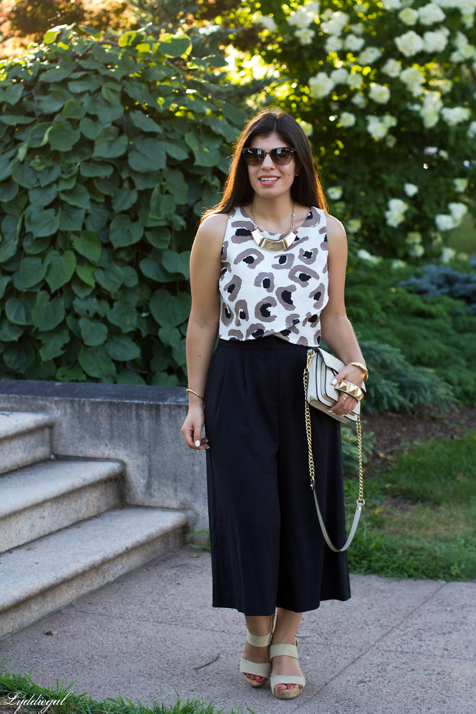 black culottes, leopard crop top, platform sandals-7.jpg