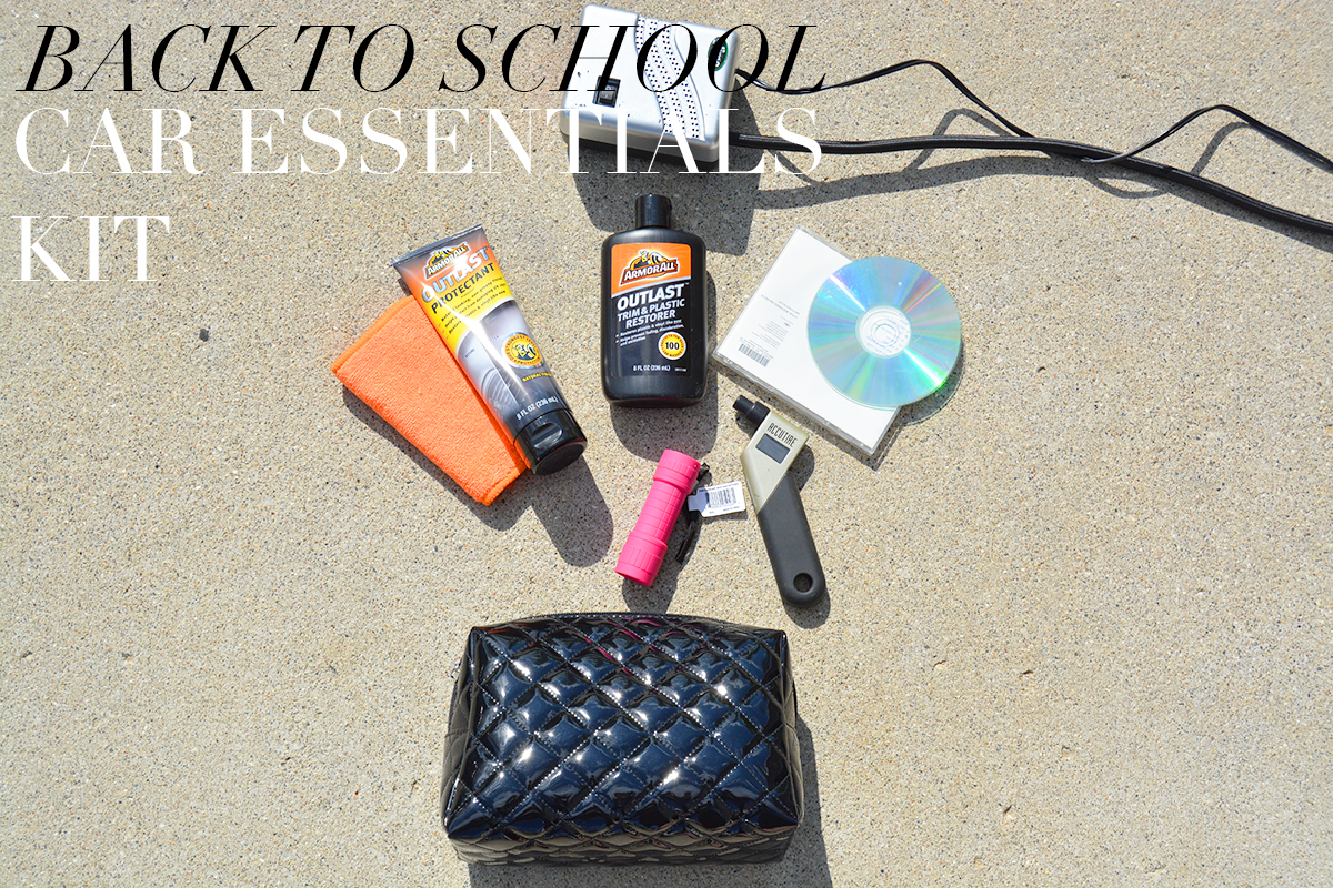 Back To School: Car Essentials Kit