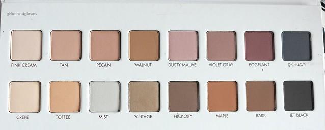 Lorac Mega Pro 3 Palette matte shades