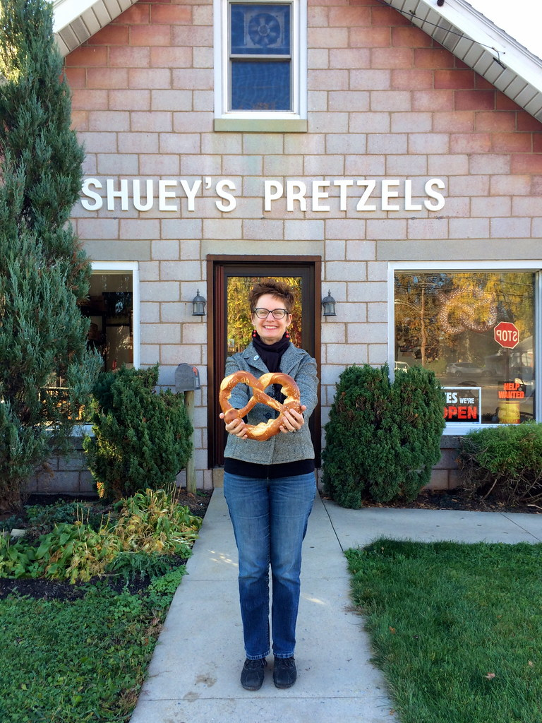 Shuey's Pretzels Lebanon PA - Retro Roadmap
