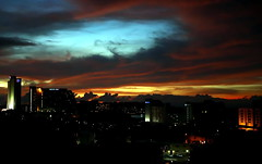 A Fine Tropical Sunset At PGUM
