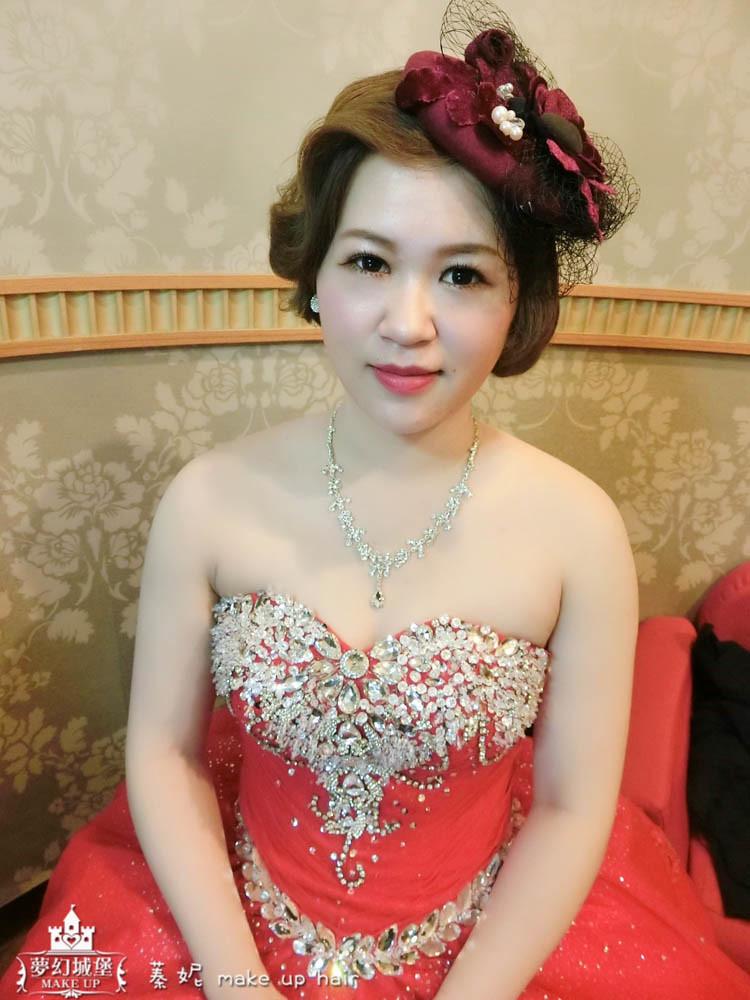 【新秘蓁妮】bride宣綾 結婚造型 / 楊梅豐華婚宴會館