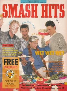 Smash Hits, December 2, 1987