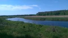 Río Pitichi. Minsk (Bielorrusia).