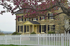 Historic Mount Bleak House at Sky Meadows State Park Virginia- edited