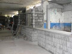 Trabajos de remodelación Mercado Municipal