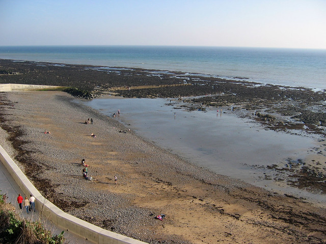 The coast at Rottingdean