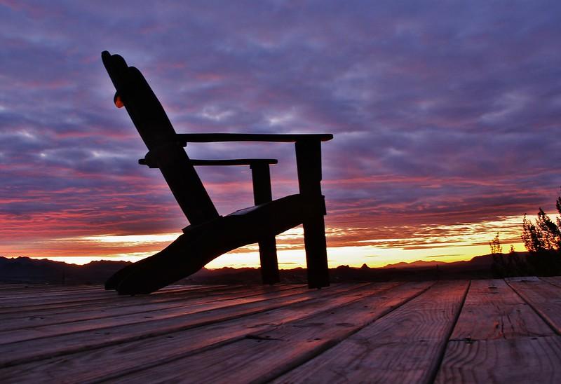 Sunrise at Terlingua Texas