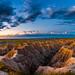 Badlands NP Sunrise 8.1 by Jack Lefor