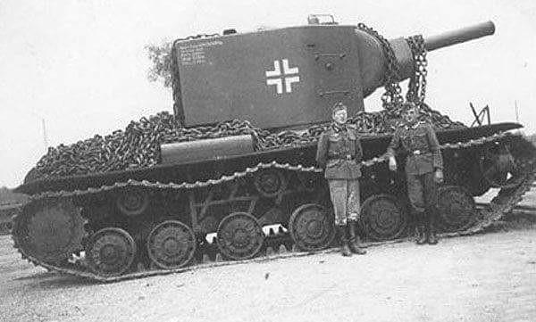 KV-2 Captured