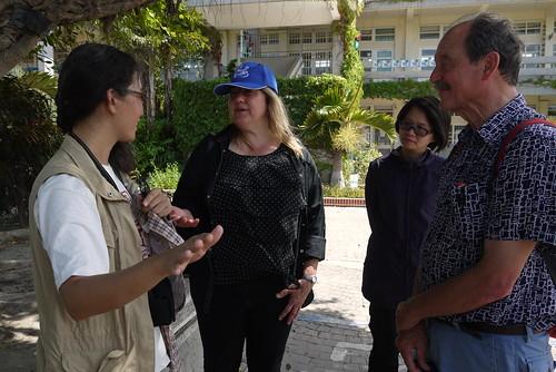 兩位專家與觀樹教育基金會營運長王昭湄交流@成龍國小