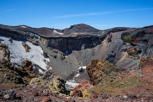 snow mountains japan fuji crater mtfuji 2015 shizuokaken fujinomiyashi d700 nikkornc24mmf28