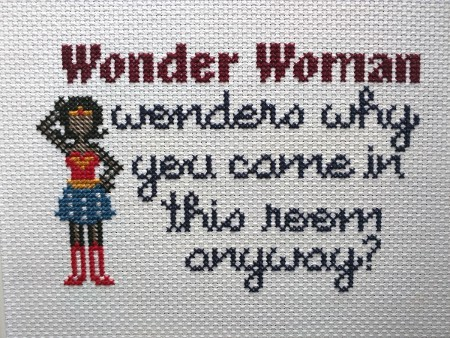 Forgetful Wonder Woman