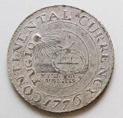 Yale Continental Dollar obverse