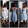 By Hand London Kim dress with NL 6776 skirt