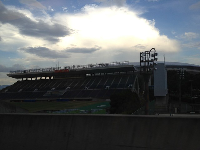 J聯盟大阪櫻花 (Cerezo Osaka)隊的主場 Kincho Stadium