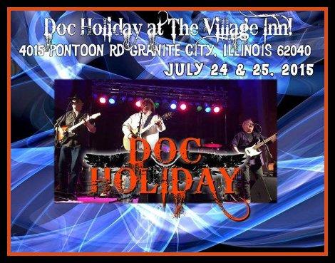 Doc Holiday 7-24, 7-25-15