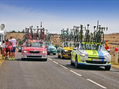 Tour de France Team Cars, TDF 2015