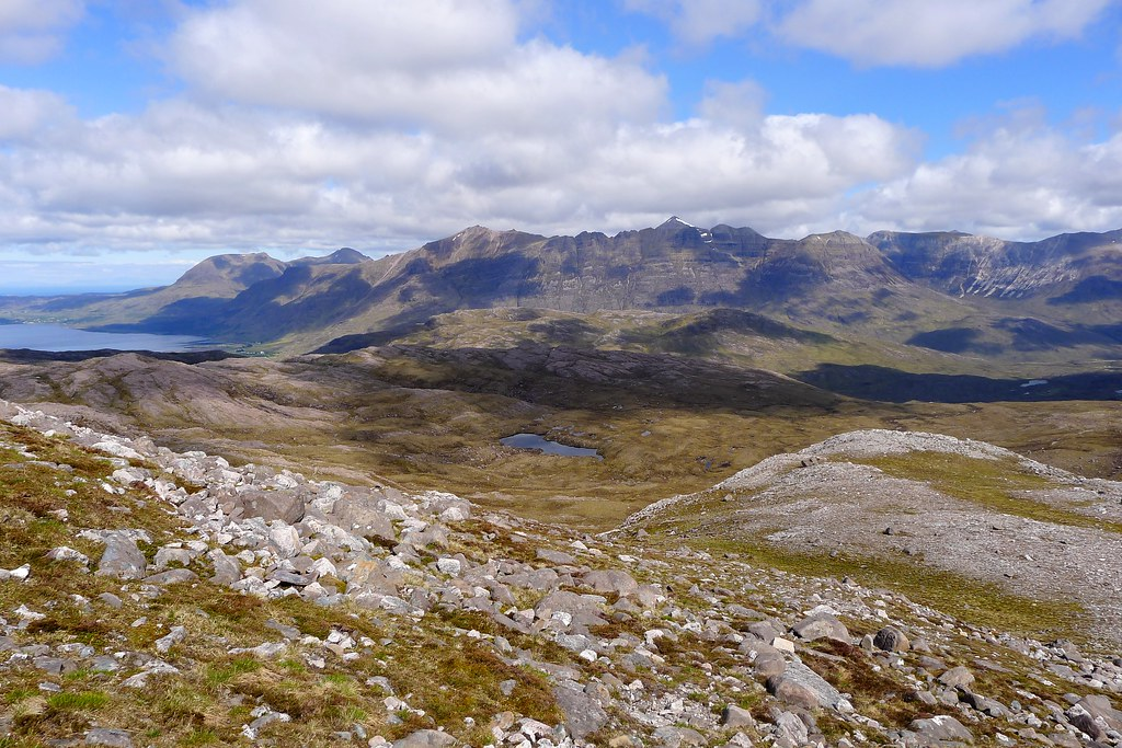 Liathach from the Bealach Ban